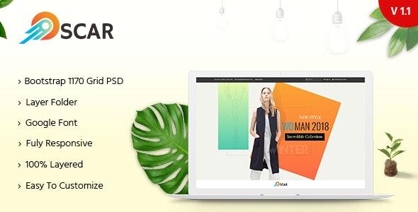 Oscar - Multipurpose PSD Template - Shopping Retail