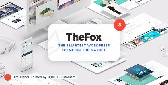 TheFox | Responsive Multi-Purpose WordPress Theme - Business Corporate