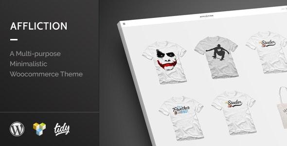 Affliction - Multipurpose Minimal WordPress WooCommerce Theme - WooCommerce eCommerce