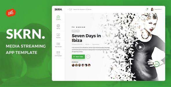 SKRN - Media Streaming App Template