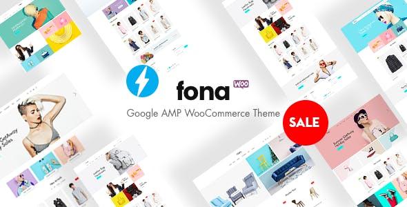 Fona - Responsive Elementor WooCommerce Theme