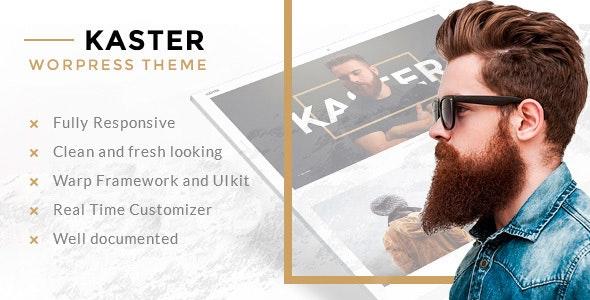 Kaster — Creative portfolio WordPress Theme - Miscellaneous WordPress