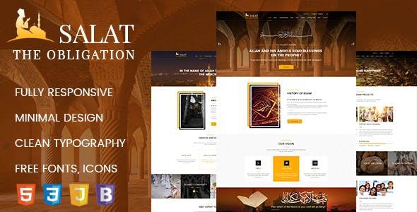 Salat – Islamic Center HTML 5 Responsive Template