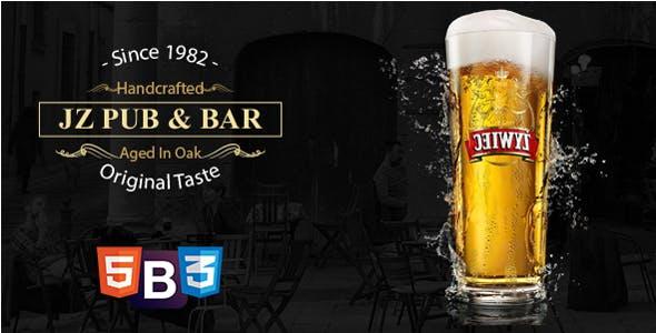 Jz Pub & Bar - HTML 5 Template