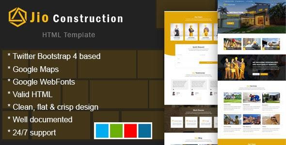 Jiolio - Construction Building Company - Business Corporate