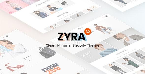 Zyra - The Clean, Minimal Shopify Theme - Fashion Shopify