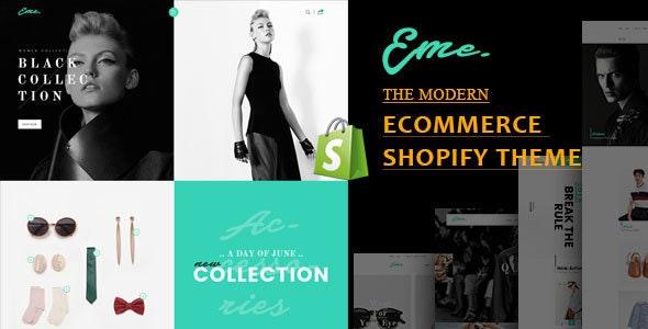 Eme - Multipurpose Shopify Theme - Fashion Shopify