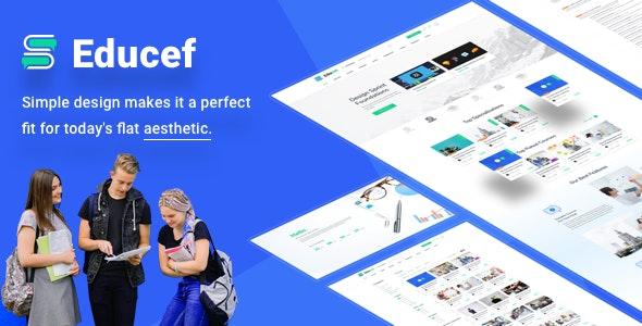 Educef – Education LMS Sketch Template - Sketch UI Templates
