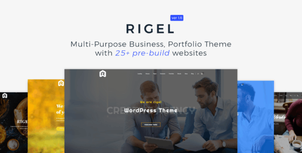 Rigel - Multi-Purpose Business Portfolio Theme - Business Corporate