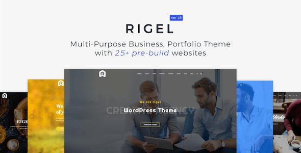 Rigel - Multi-Purpose Business Portfolio Theme