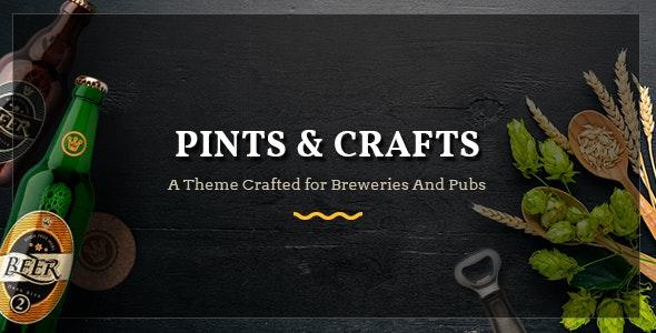 Pints&Crafts - Bar, Beer & Pub Theme - Restaurants & Cafes Entertainment