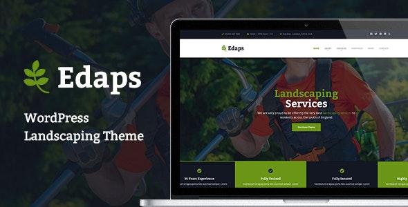 Edaps - WordPress Landscaping Theme - Business Corporate