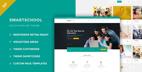 Smartschool - Education WordPress Theme - Education WordPress