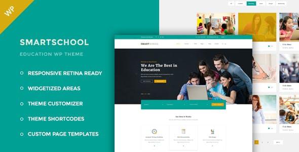 Smartschool - Education WordPress Theme