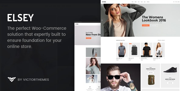 Elsey - Responsive eCommerce Theme - WooCommerce eCommerce