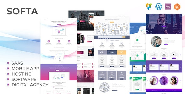 Softa - SaaS, Software & WebApp WordPress - Software Technology