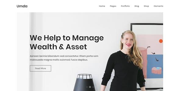 Umda - Innovative Multipurpose Creative Template
