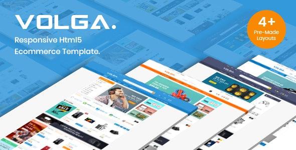 Volga - Electronics Store eCommerce HTML Template - Shopping Retail