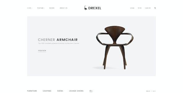 Drexel - Minimalist Responsive Magento2 Theme