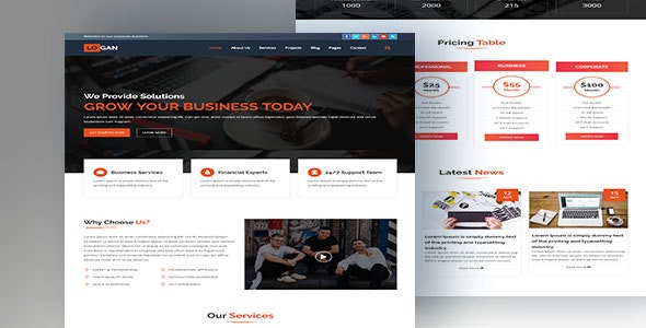 LOGAN-Multipurpose HTML5 Business Template - Business Corporate