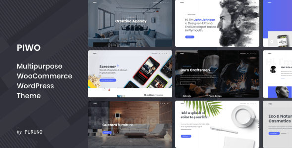 Piwo - A Multipurpose & WooCommerce WordPress Theme - Creative WordPress