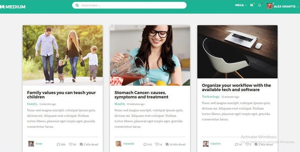 Masha - All Social Networks Redesigned with Bootstrap