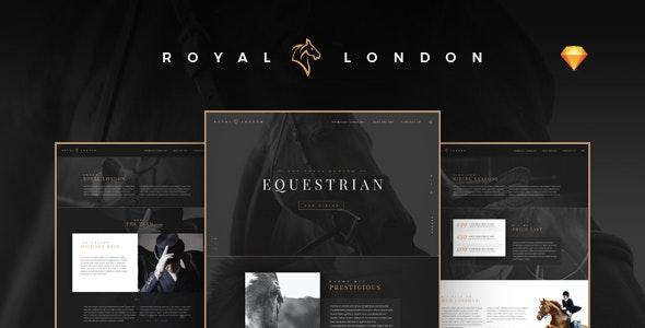 Royal London Equestrian - Horse Riding School - Miscellaneous Sketch