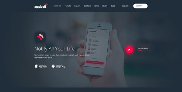 appbell - Apps Concept - .PSDs