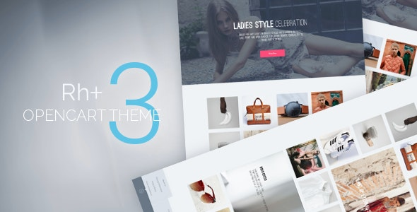 Rh+ OpenCart Theme - Fashion OpenCart
