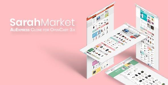 SarahMarket - Large Store OpenCart Theme