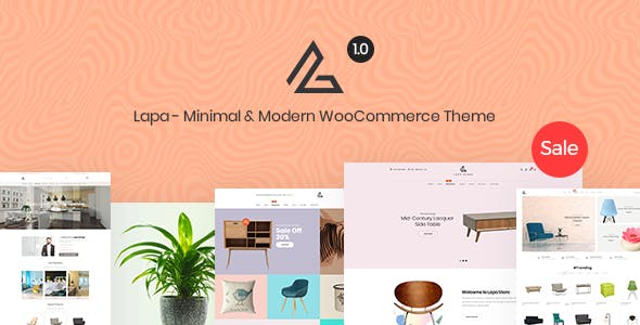 Lapa - Minimal & Modern WooCommerce Theme