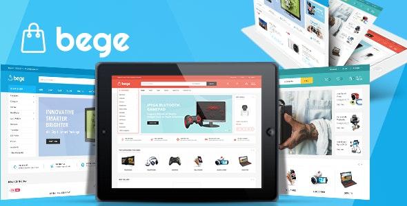 Bege - Responsive WooCommerce WordPress Theme - WordPress