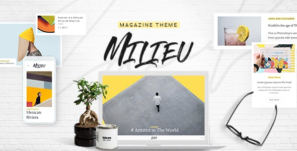 Milieu - Art, Style and Culture Magazine