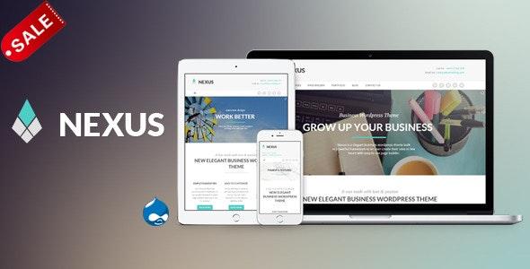 Nexus - Elegant Business Drupal 7.6 Theme - Business Corporate