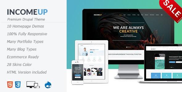 IncomeUp - Multipurpose Drupal 7.6 Theme - Shopping Retail