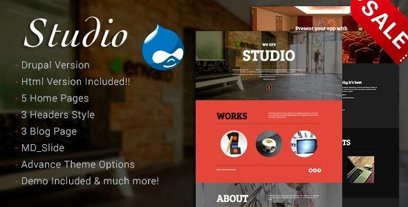 Studio - Multipurpose Technology Drupal 7.6 Theme - Drupal CMS Themes