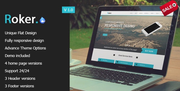 Roker - Corporate And Creative Multi Purpose Drupal 7.6 Theme - Drupal CMS Themes