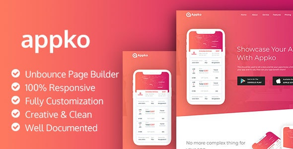appko - Unbounce App Landing Page - Unbounce Landing Pages Marketing