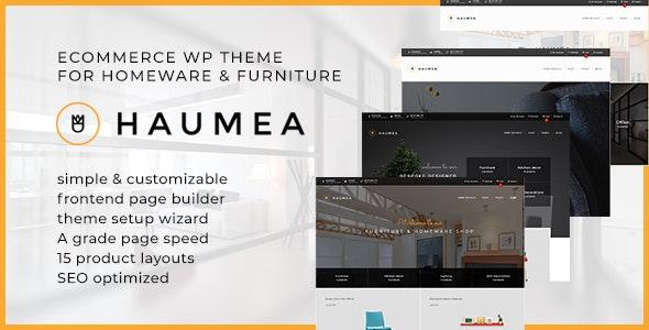Haumea - E-commerce WP Theme for Homeware and Furniture - WooCommerce eCommerce