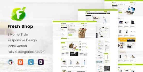 JMS FreshShop - Fresh Responsive Prestashop Theme - PrestaShop eCommerce
