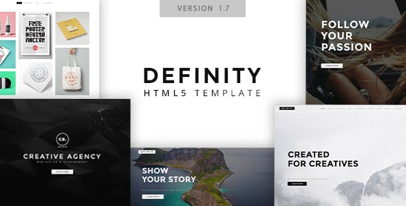 Definity - Multipurpose One/Multi Page Template