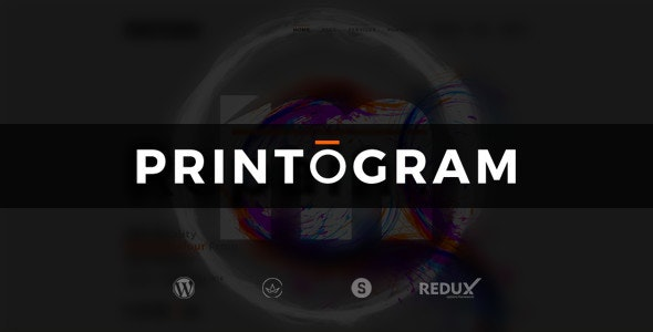 Printogram — WordPress Theme - Business Corporate