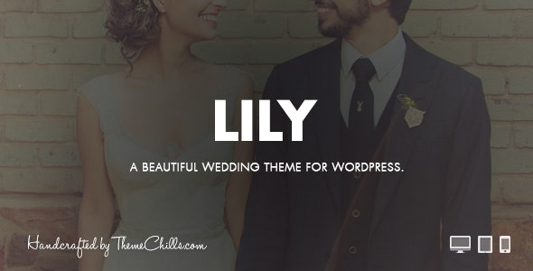 Lily - WordPress Wedding Theme - Wedding WordPress