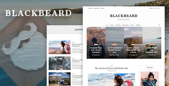 Blackbeard - Elegant Blog Template