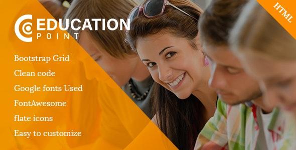 Education Point - Nonprofit Site Templates