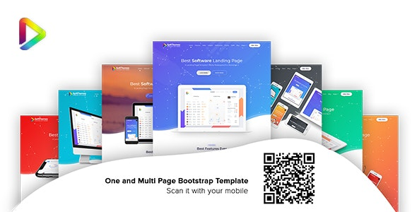 Soft Themez - Software Landing Page Template - Corporate Site Templates
