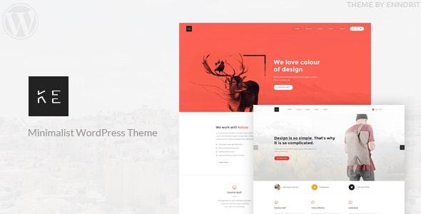 Ketoss - Minimalist Portfolio and Business WordPress Theme - WordPress