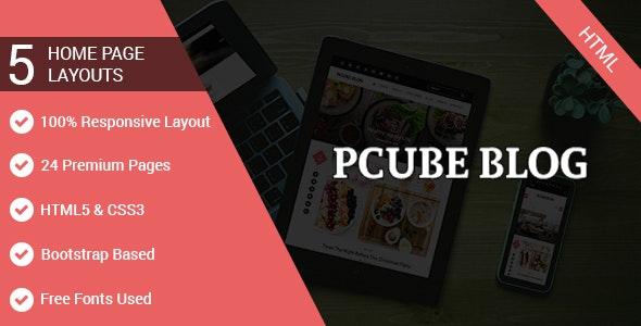 Pcube Blog - Site Templates