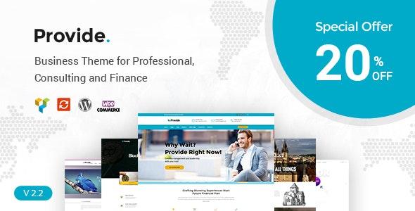 Provide - Responsive Multipurpose WordPress Theme - Corporate WordPress
