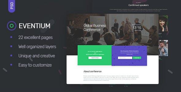 Eventium - Events, Meetings & Conferences